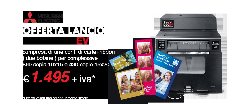 Offerta Lancio Smart D90 Ev